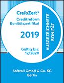 Zertifikat CrefoZert-2020