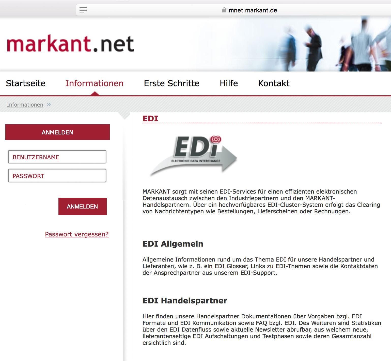 Softzoll-EDI/MarkantNet