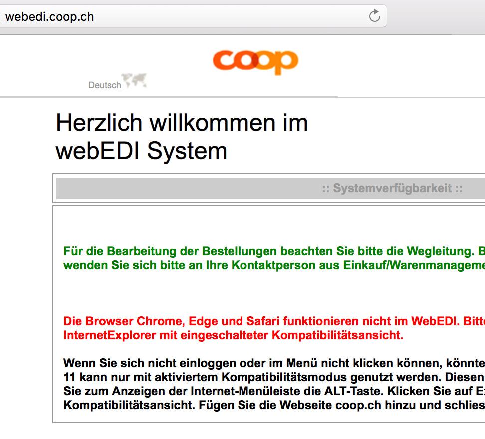 Softzoll-EDI/coop-WebWedi-Portal